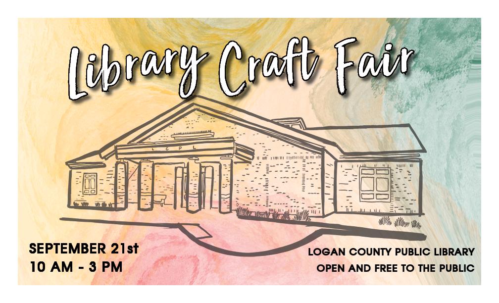 Library Craft Fair Logo